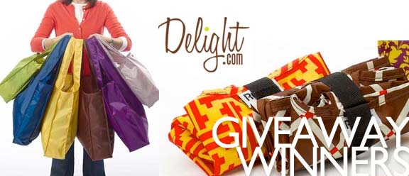 delight.com Giveaway Winners