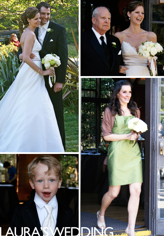 Laura's wedding on ohbrooke.com