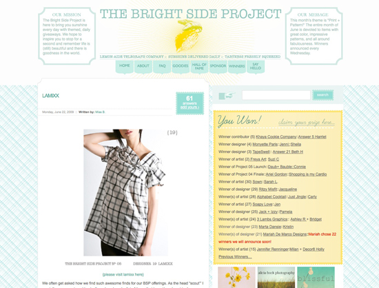 The Bright Side Project by ohbrooke