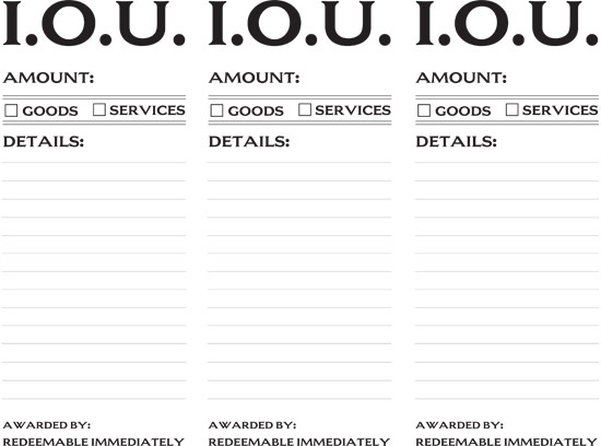 how to write an iou template - iou certificate new calendar template site
