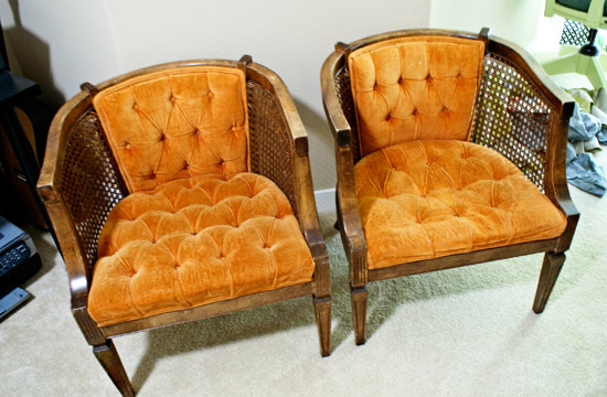 New Project: Cane Armchairs
